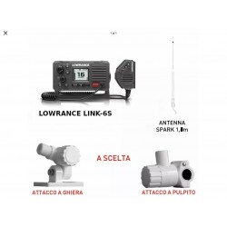 Lowrance VHF Link 6S con...